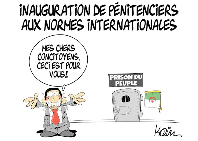 Inauguration de pénitenciers aux normes internationales