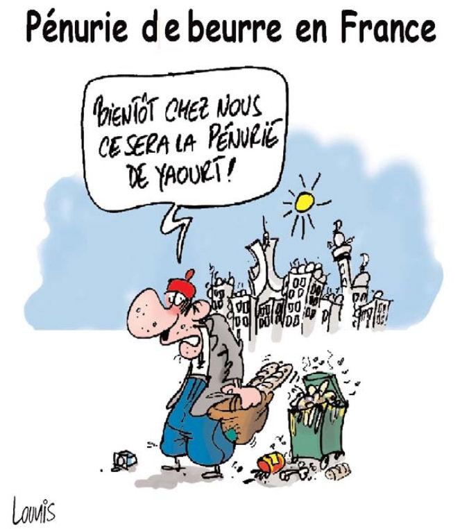 Pénurie de beurre en France