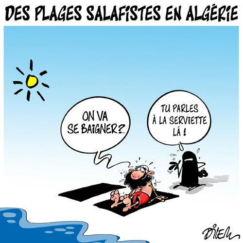 Des plages salafistes en Algérie