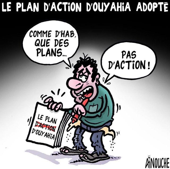 Le plan d'action d'Ouyahia adopté