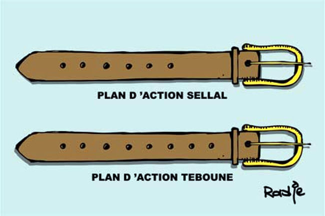 Plan d'action du gouvernement
