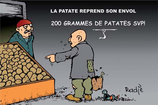 La patate reprend son envol