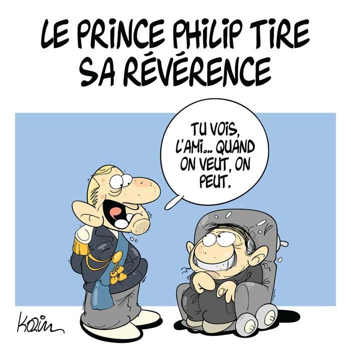 Le prince Philip tire sa révérence