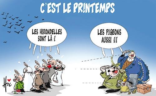 C 39 est le printemps caricatures et humour - C est quand le printemps 2017 ...