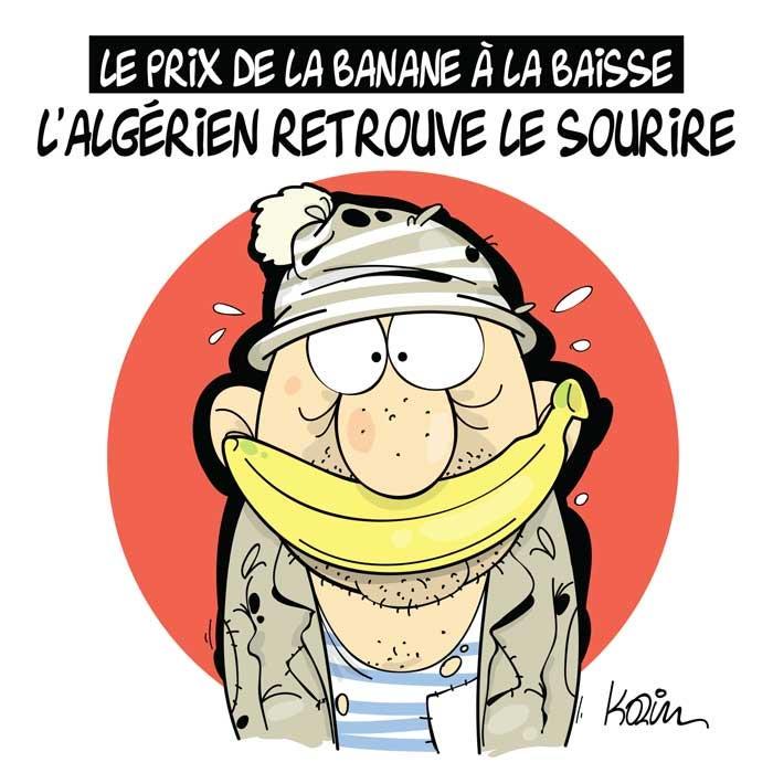 Le prix de la banane à la baisse: L'algérien retrouve le sourire