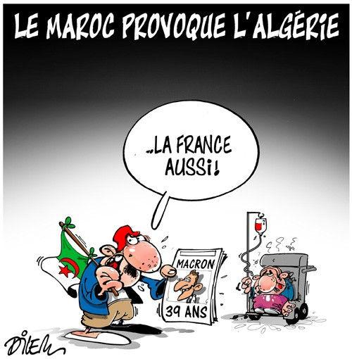 Le Maroc provoque l'Algérie