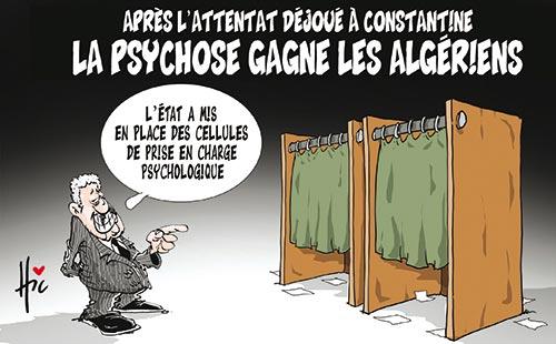 Après l'attentat déjoué à Constantine: La psychose gagne les algériens