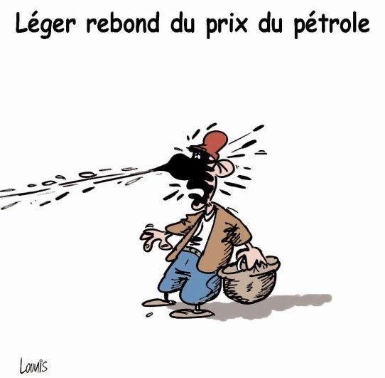 Léger rebond du prix du pétrole