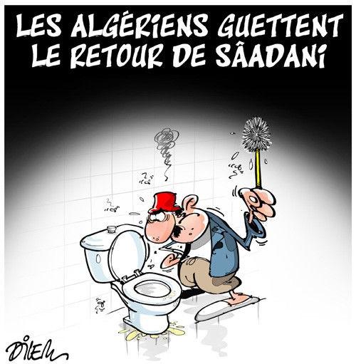 Les Algériens guettent le retour de Sâadani