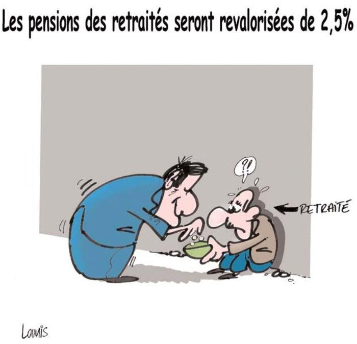 Les pensions des retraités seront revalorisées de 2