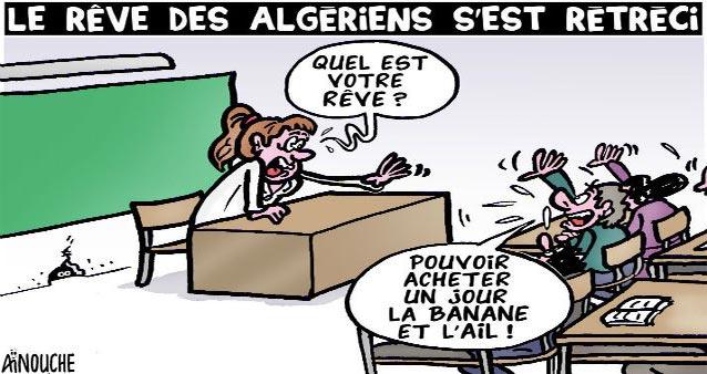 Le rêve des algériens s'est rétréci