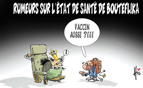 Rumeurs sur l'état de santé de Bouteflika