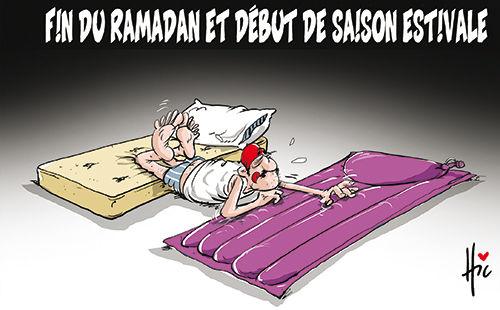 Fin du ramadan et débt de la saison estivale