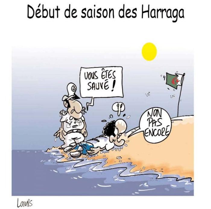 Début de saison des Harraga