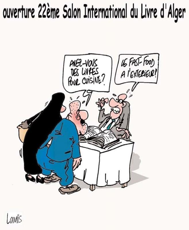 Ouverture de 22ème salon international du livre d'Alger