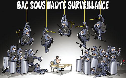 Bac sous haute surveillance