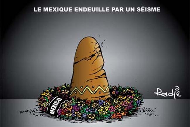 Le Mexique endeuillé par un séisme