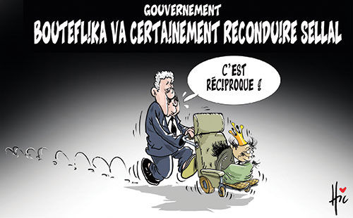 Gouvernement: Bouteflika va certainement reconduire Sellal