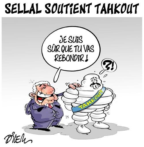 Sellal soutient Tahkout