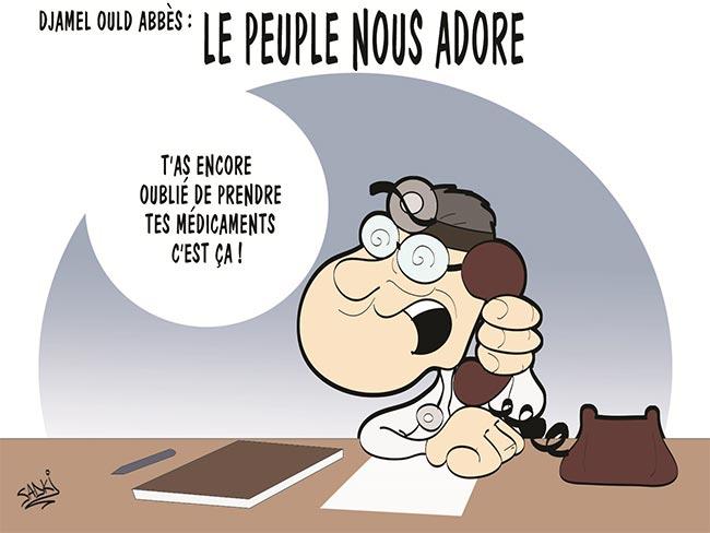 """Djamel Ould Abbès: """"Le peuple nous adore"""""""