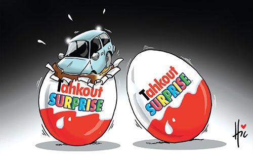 Tahkout surprise