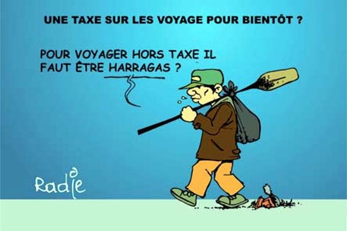 Une taxe sur les voyages pour bientôt ?
