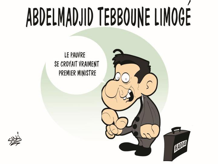 Abdelmadjid Tebboune limogé