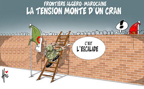 Frontière algérie-marocaine: La tension monte d'un cran