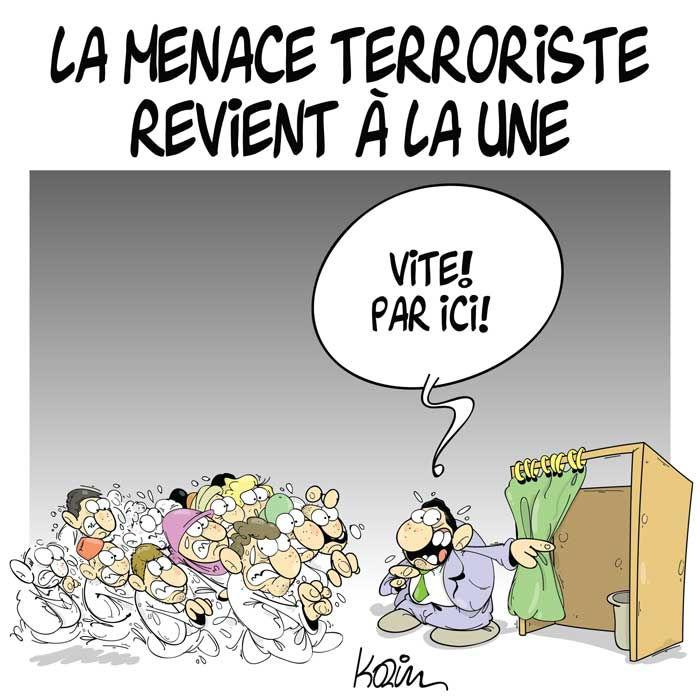 La menace terroriste revient à la une
