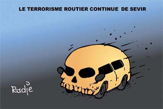 Le terrorisme routier continue de sévir