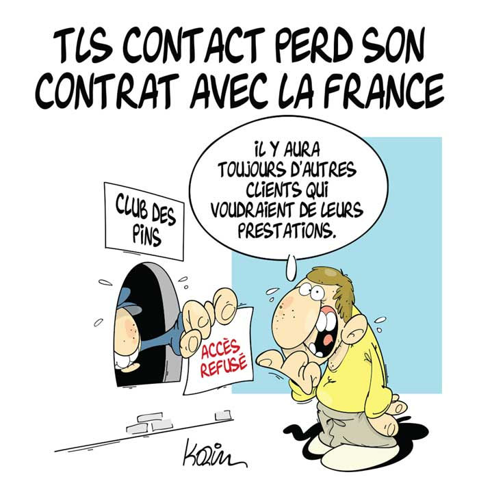 TLS Contact perd son contrat avec la France