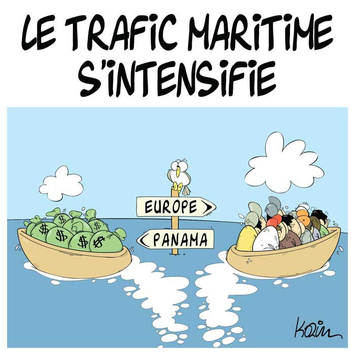 Le trafic maritime s'intensifie
