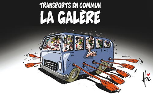 Transport en commun: La galère
