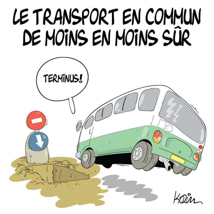 Le transport en commun de moins en moins sûr