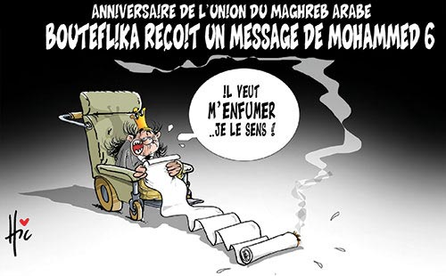 Anniversaire de l'union du Maghreb Arabe: Bouteflika reçoit un message de Mohammed 6