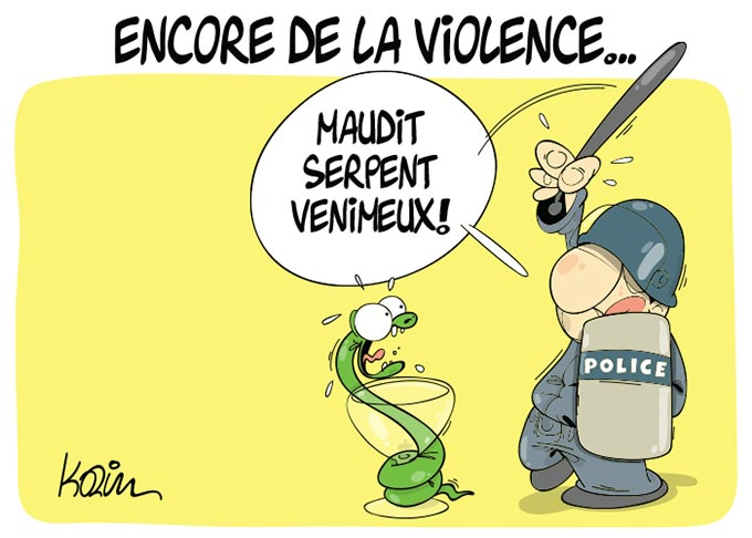 Encore de la violence