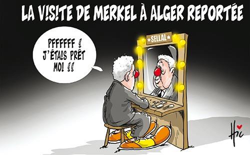 La visite de Merkel à Alger reportée