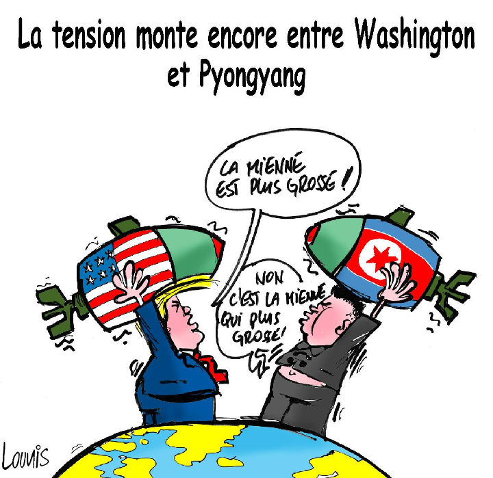 La tension monte encore entre Washington et Pyongyang