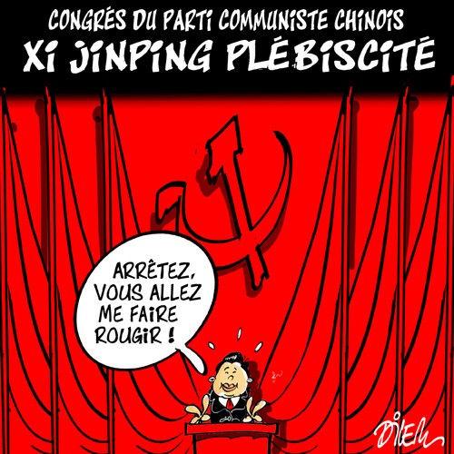 Congrés du parti communiste chinois: Xi Junping plébicité