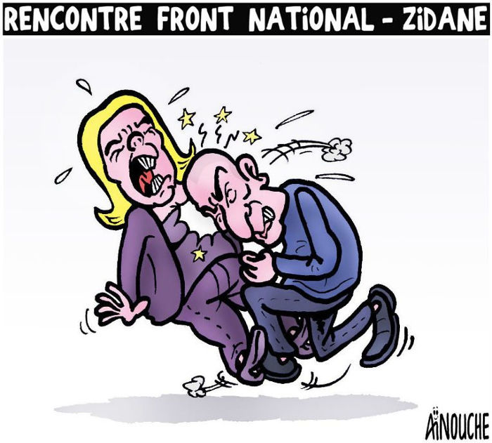 Rencontre Front National - Zidane