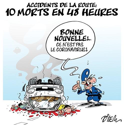 Accidents de la route : 10 morts en 48 heures - Dilem - Liberté - Gagdz.com