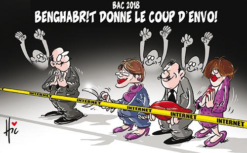 Bac 2018 : Benghabrit donne le coup d'envoi - Dessins et Caricatures, Le Hic - El Watan - Gagdz.com