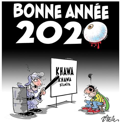 Bonne année 2020 en Algérie - Dilem - Liberté - Gagdz.com
