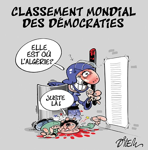 Classement mondial des démocraties, où se classe l'Algérie ? - Dilem - Liberté - Gagdz.com