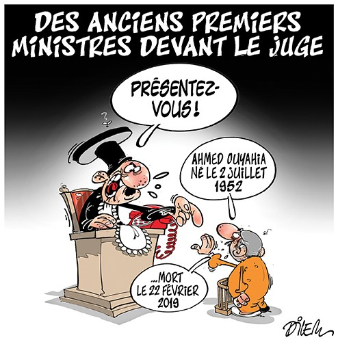Des anciens premières ministres devant le juge - Dilem - Liberté - Gagdz.com