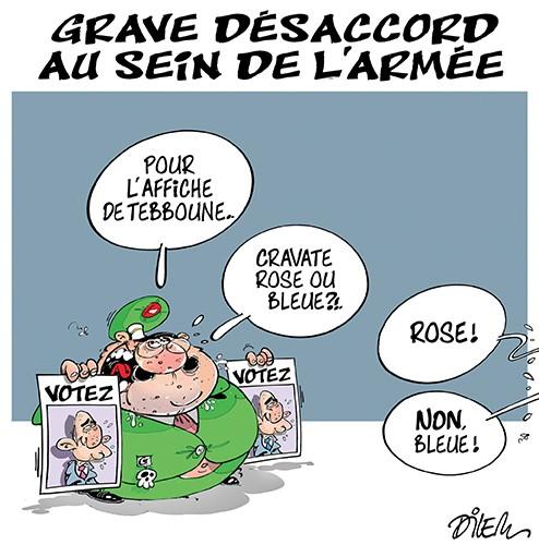 Grave désaccord au sein de l'armée - Dilem - Liberté - Gagdz.com