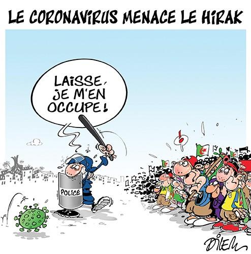 Le coronavirus menace le hirak - Dilem - Liberté - Gagdz.com