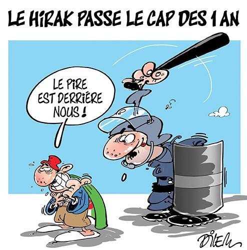 Le hirak passe le cap des 1 an, le pire est derrière nous - Dilem - Liberté - Gagdz.com
