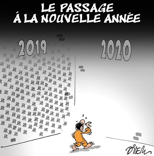 Le passage de la nouvelle année - Dilem - Liberté - Gagdz.com