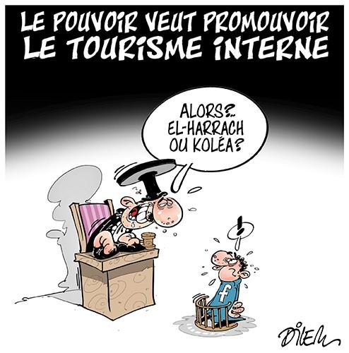 Le pouvoir veut promouvoir le tourisme interne - Dilem - Liberté - Gagdz.com